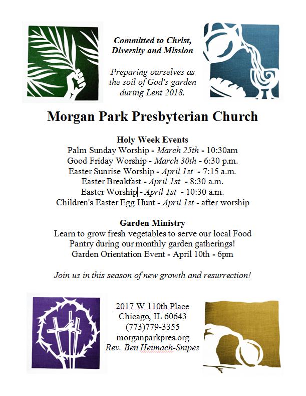 Mp Presbeteryian Church Easter